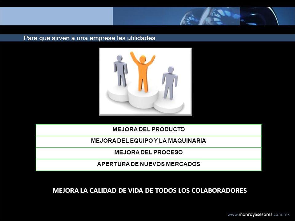 MEJORA LA CALIDAD DE VIDA DE TODOS LOS COLABORADORES
