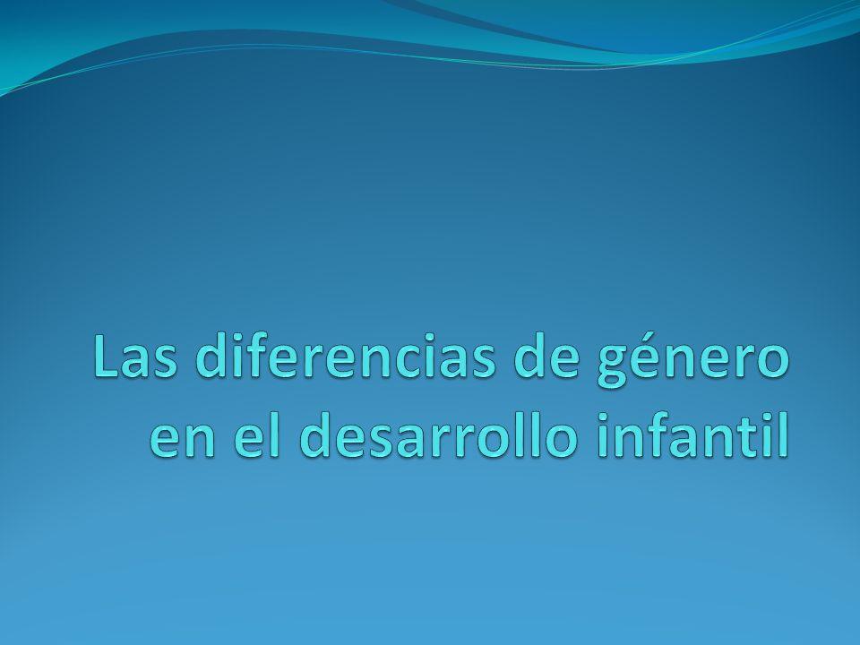 Las diferencias de género en el desarrollo infantil