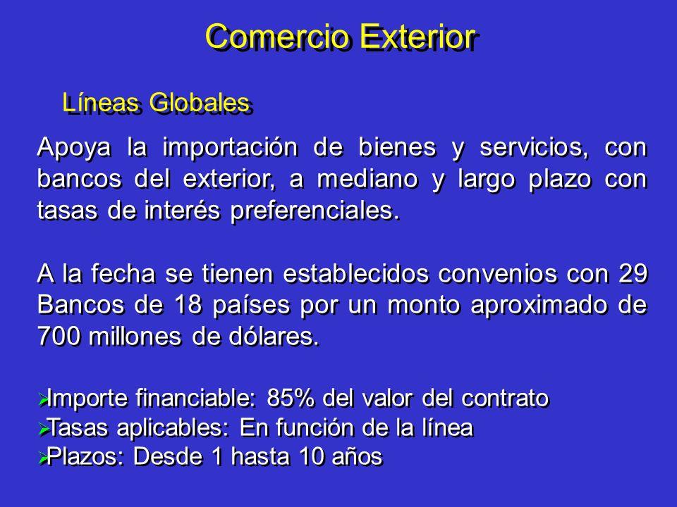 Comercio Exterior Líneas Globales