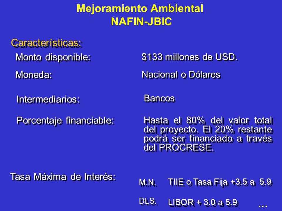Mejoramiento Ambiental NAFIN-JBIC