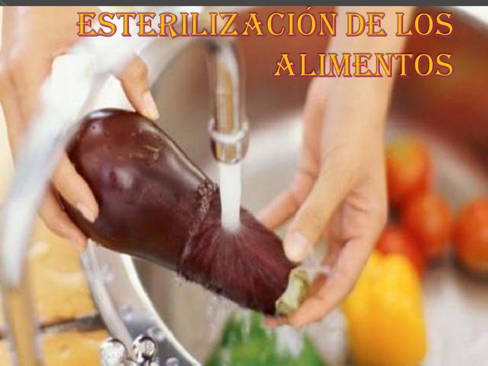 Esterilización de los alimentos