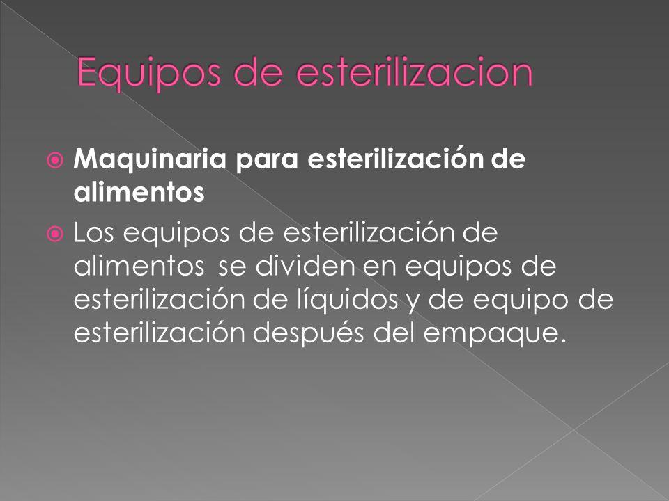 Equipos de esterilizacion