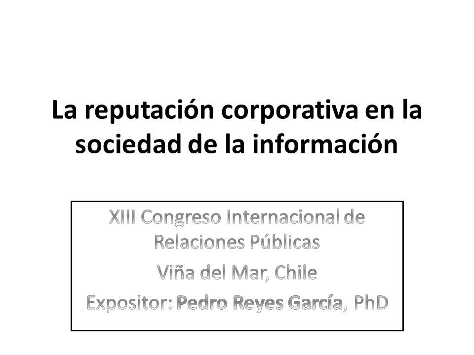 La reputación corporativa en la sociedad de la información