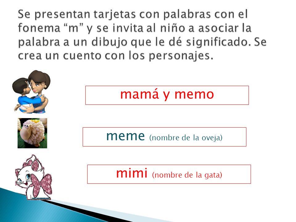 meme (nombre de la oveja)