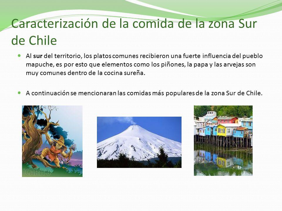 Comidas t picas de la zona sur de chile ppt video online for Poda de arboles zona sur