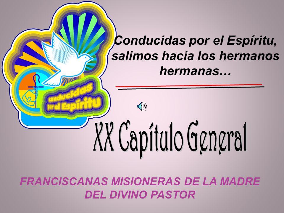 XX Capítulo General Conducidas por el Espíritu,