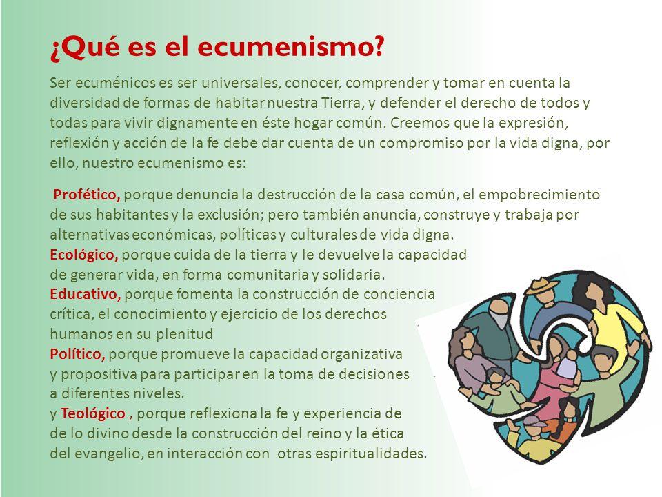 ¿Qué es el ecumenismo