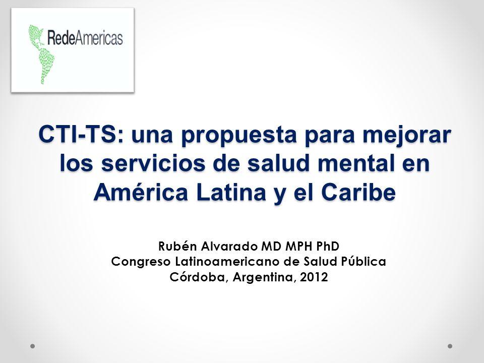 Rubén Alvarado MD MPH PhD Congreso Latinoamericano de Salud Pública