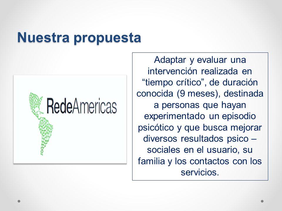 Nuestra propuesta