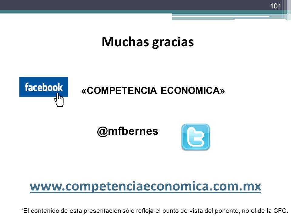 Muchas gracias www.competenciaeconomica.com.mx
