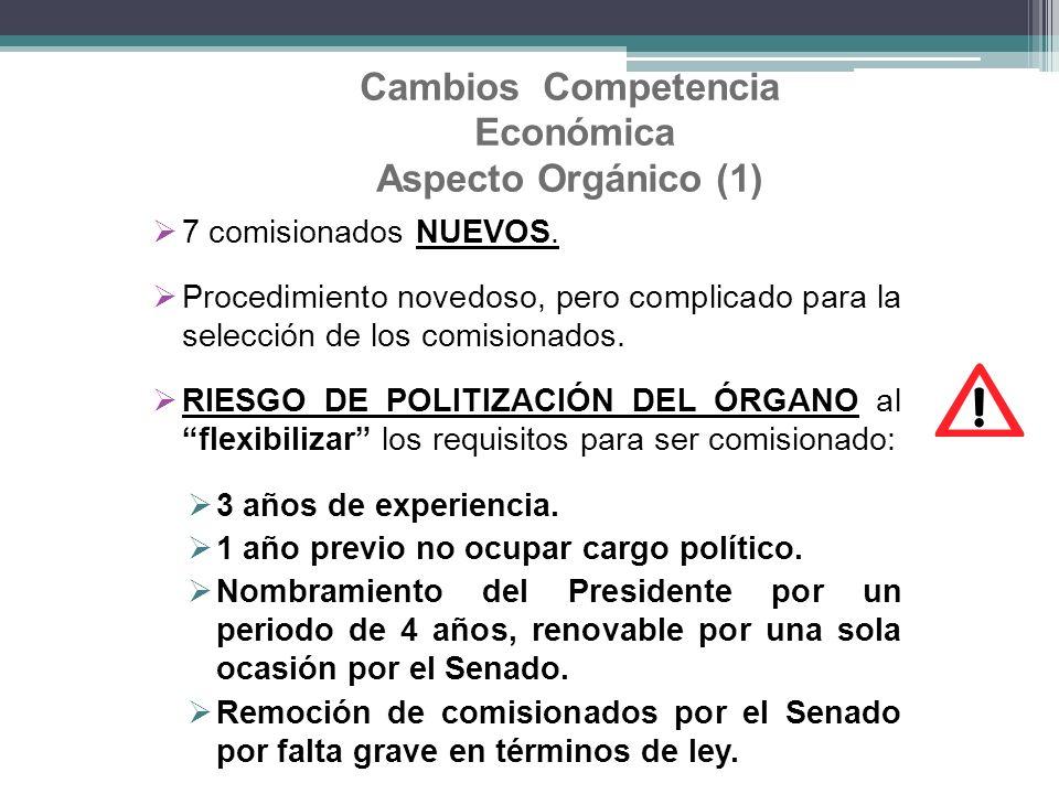 Cambios Competencia Económica Aspecto Orgánico (1)
