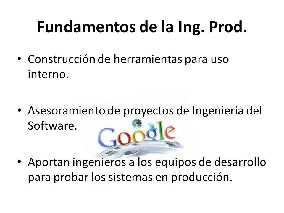 Fundamentos de la Ing. Prod.