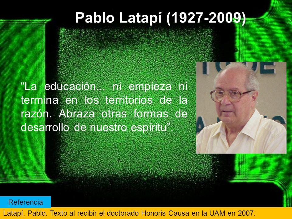 Pablo Latapí (1927-2009)