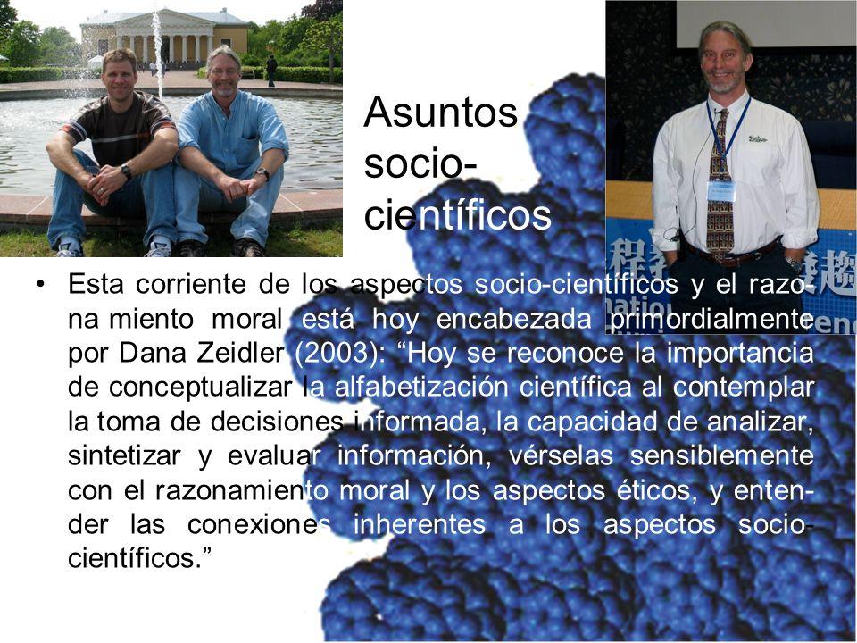 Asuntos socio-científicos