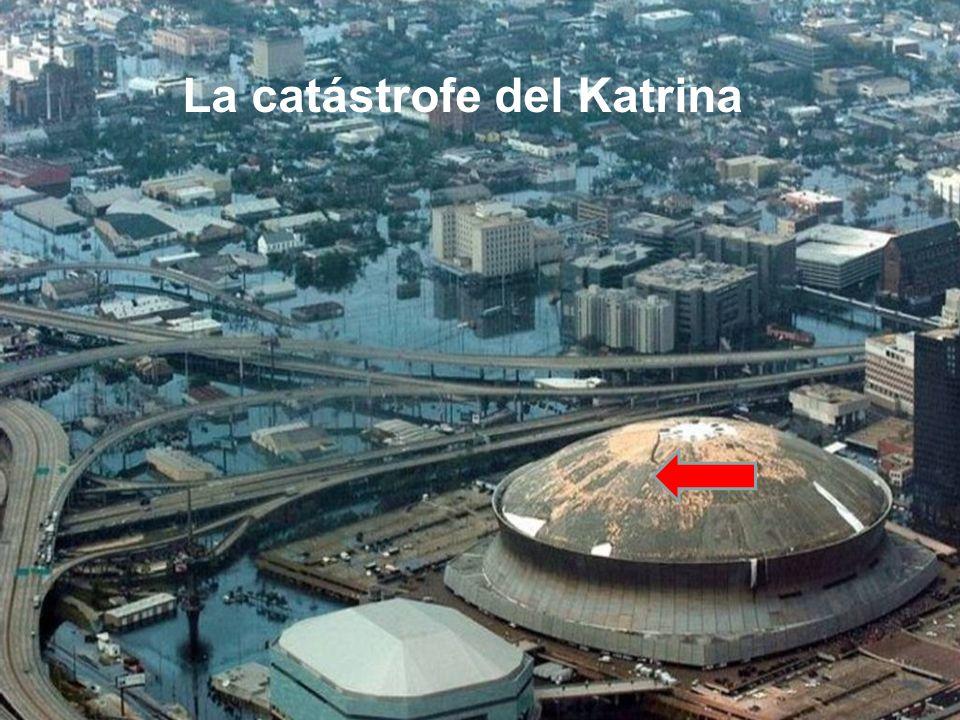 La catástrofe del Katrina