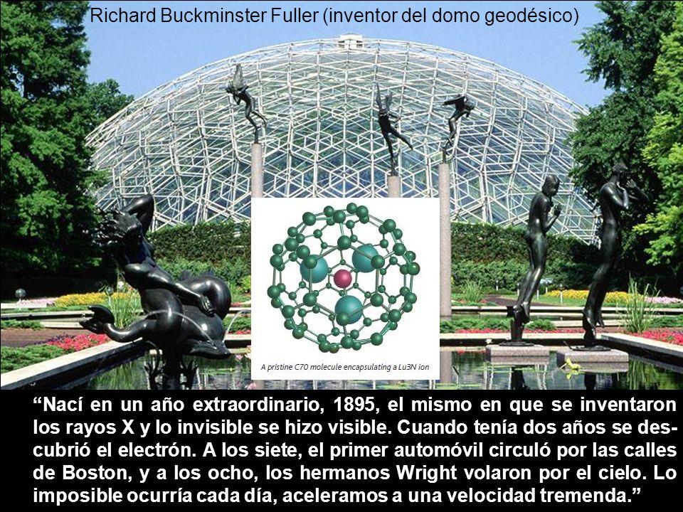 Richard Buckminster Fuller (inventor del domo geodésico)