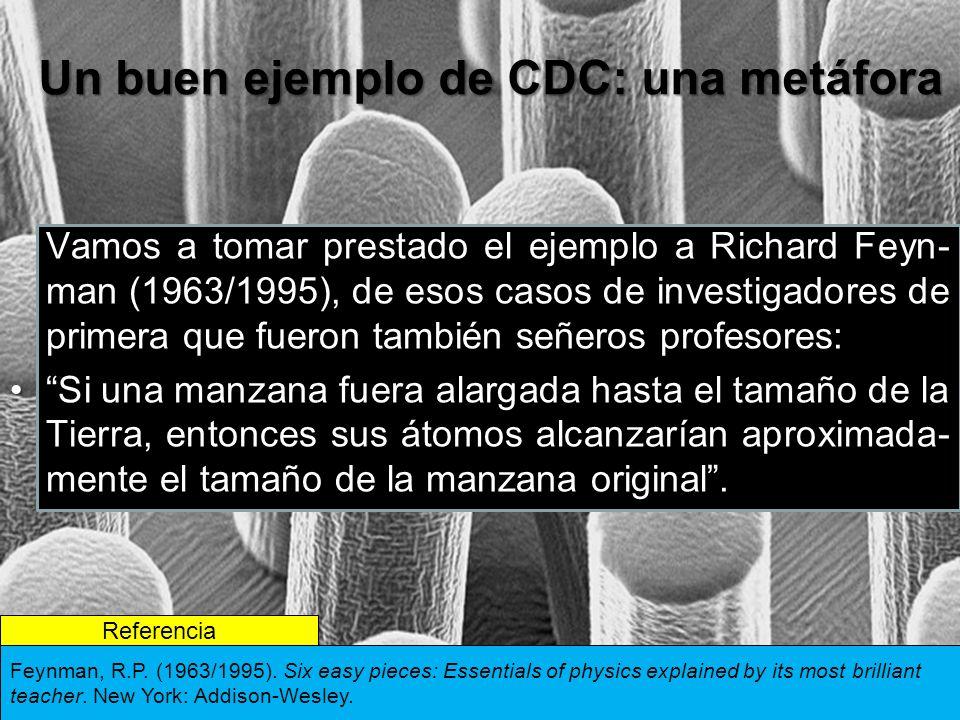 Un buen ejemplo de CDC: una metáfora