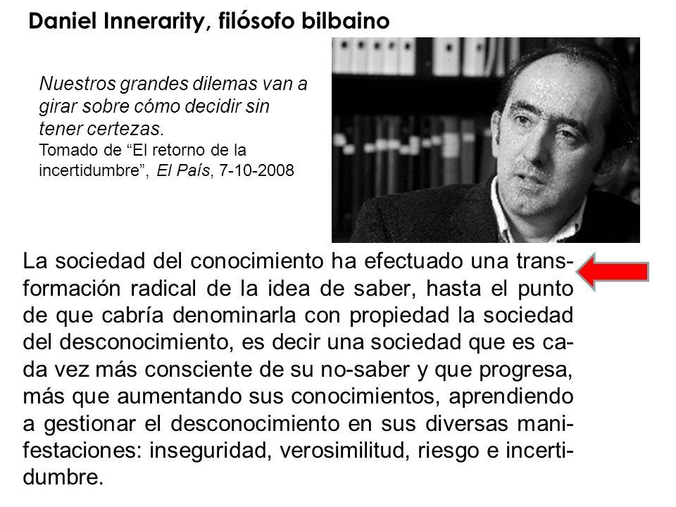 Daniel Innerarity, filósofo bilbaino