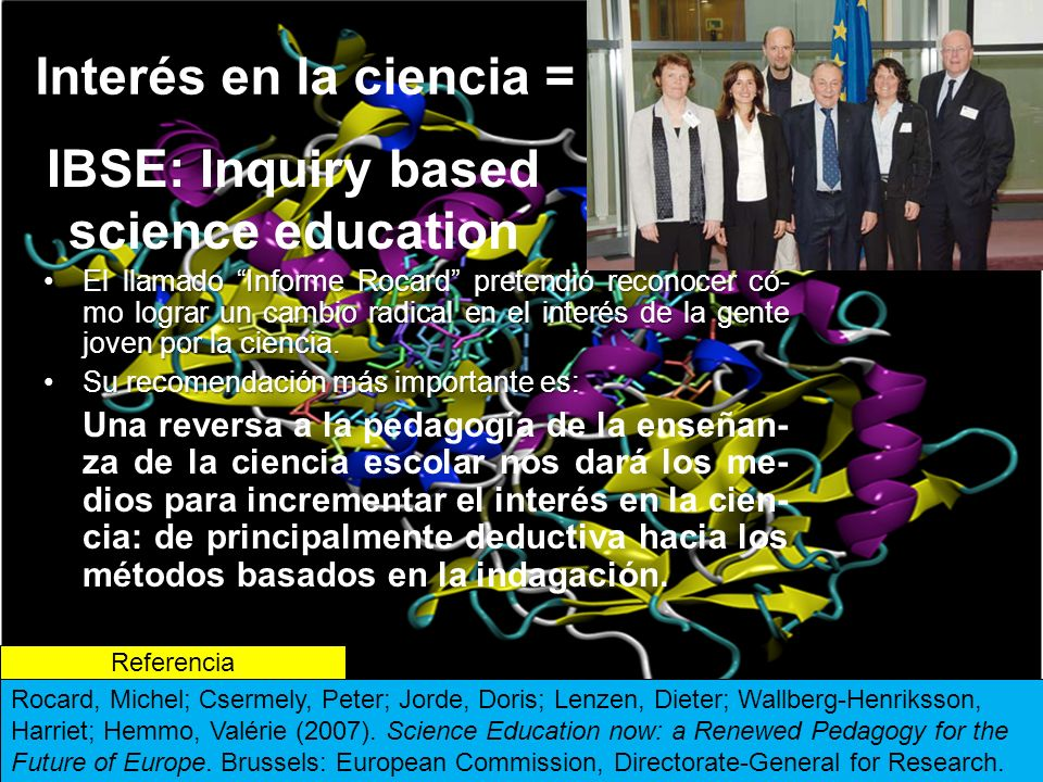 IBSE: Inquiry based science education