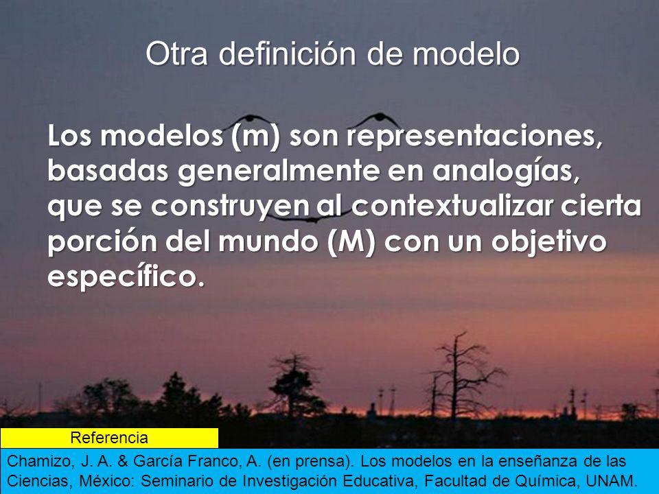Otra definición de modelo