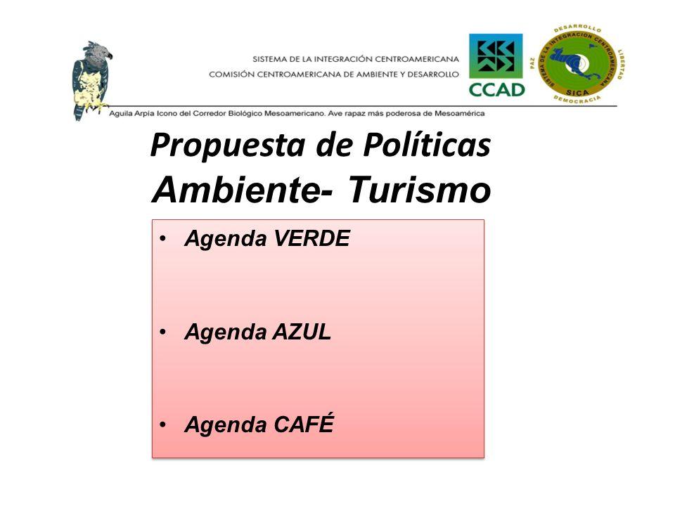 Propuesta de Políticas Ambiente- Turismo