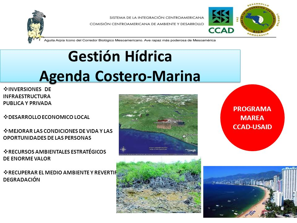 Gestión Hídrica Agenda Costero-Marina