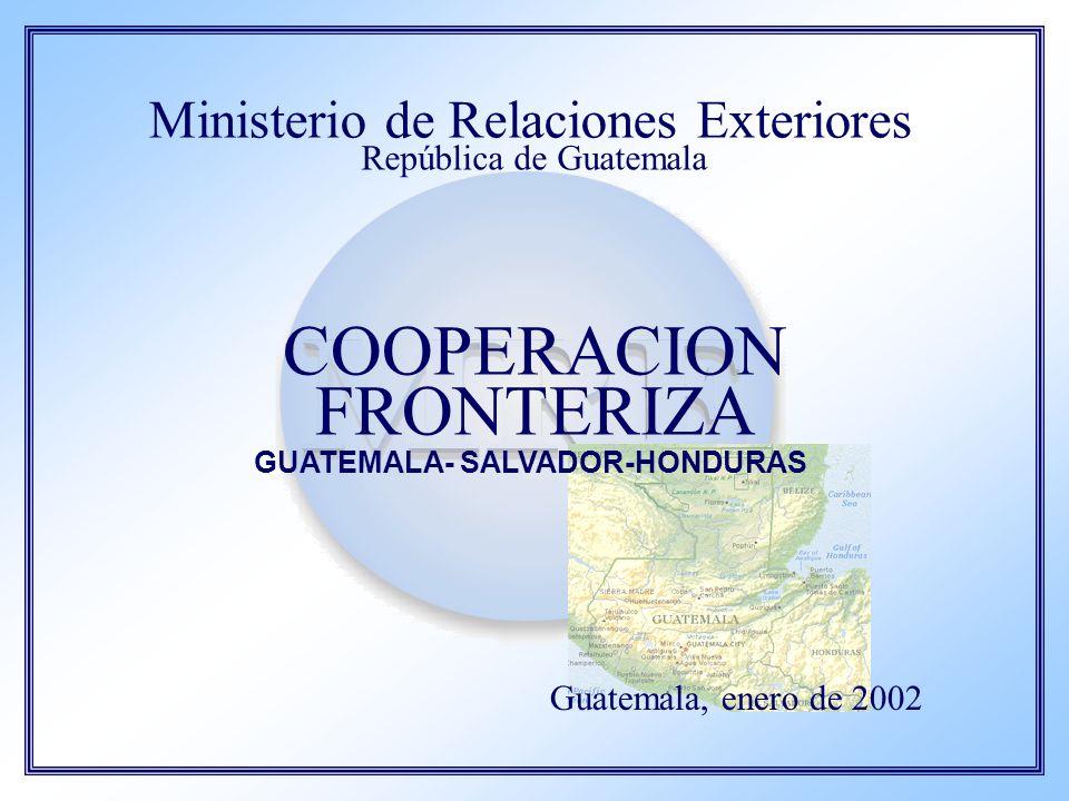 GUATEMALA- SALVADOR-HONDURAS