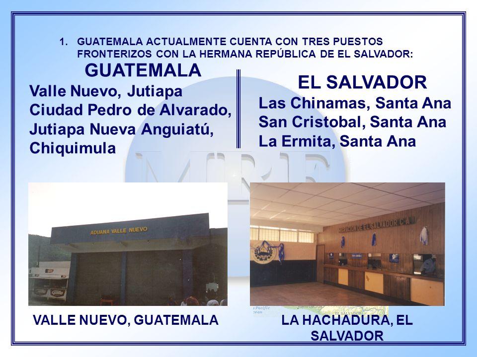 LA HACHADURA, EL SALVADOR