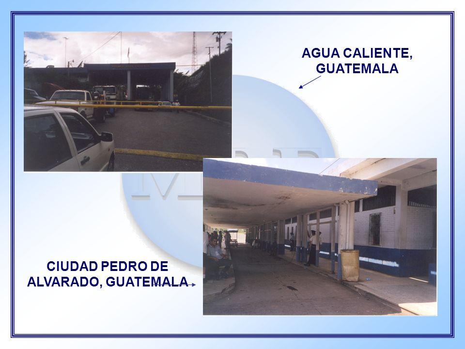 AGUA CALIENTE, GUATEMALA CIUDAD PEDRO DE ALVARADO, GUATEMALA