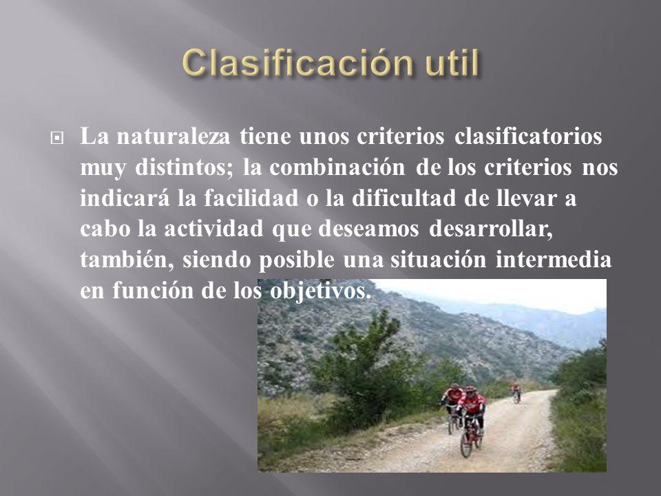 Clasificación util