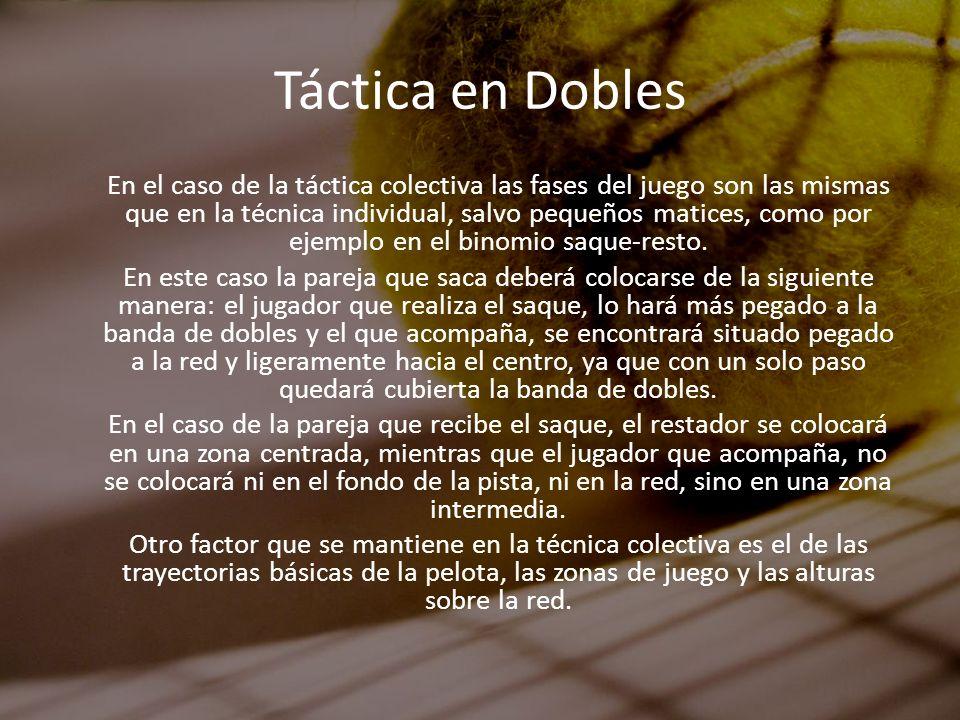 Táctica en Dobles