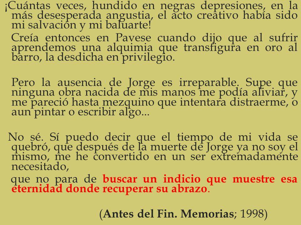(Antes del Fin. Memorias; 1998)