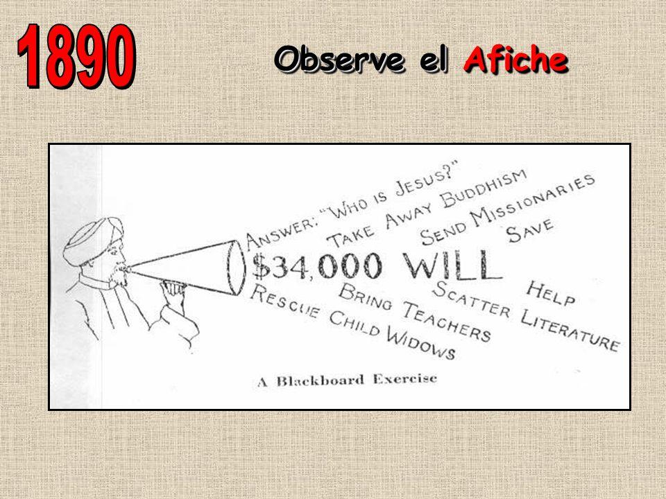 1890 Observe el Afiche
