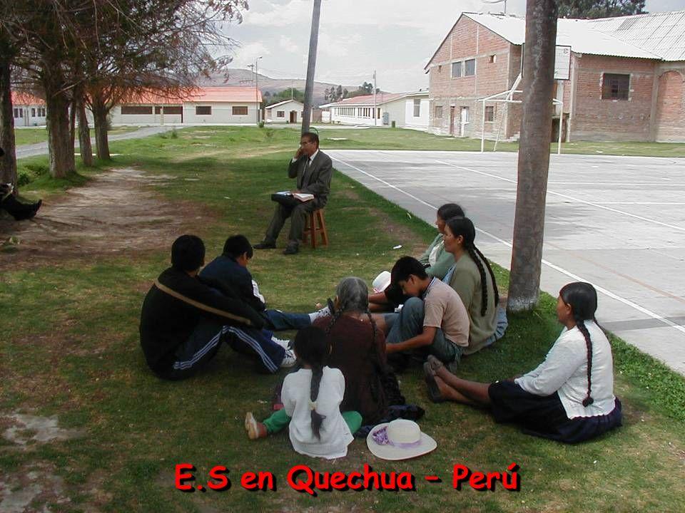 E.S en Quechua – Perú
