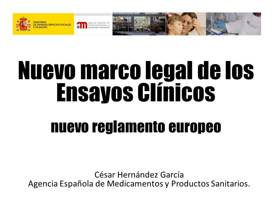 Nuevo marco legal de los Ensayos Clínicos