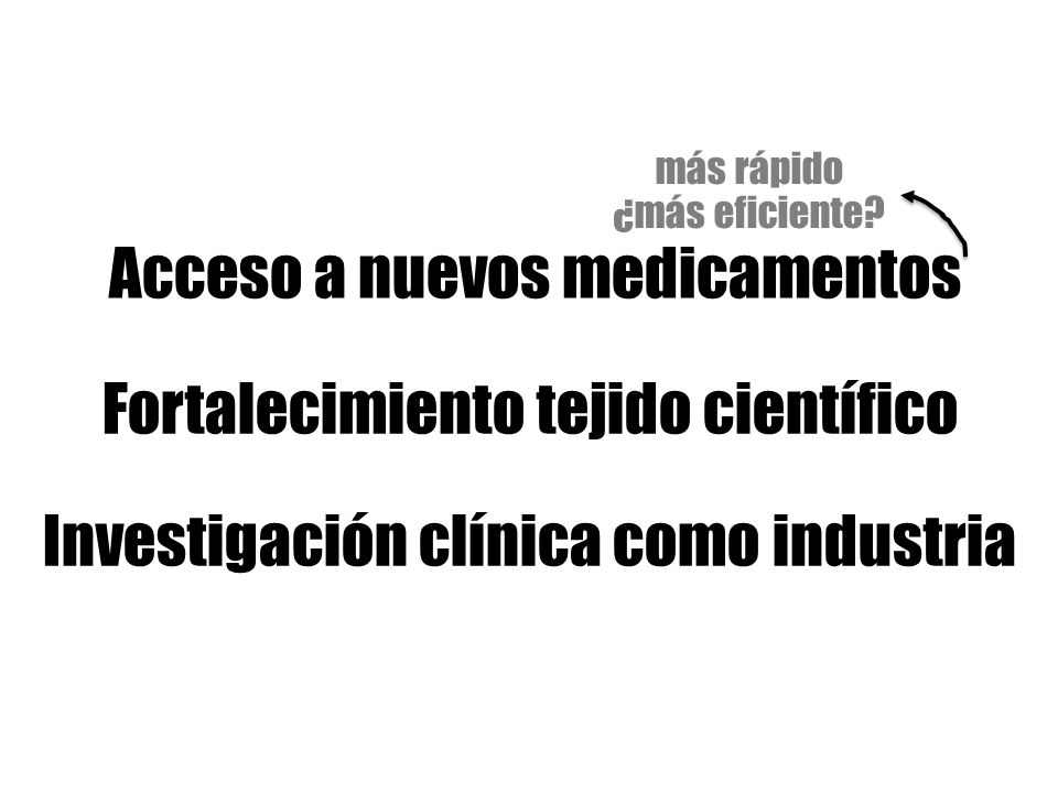 Acceso a nuevos medicamentos