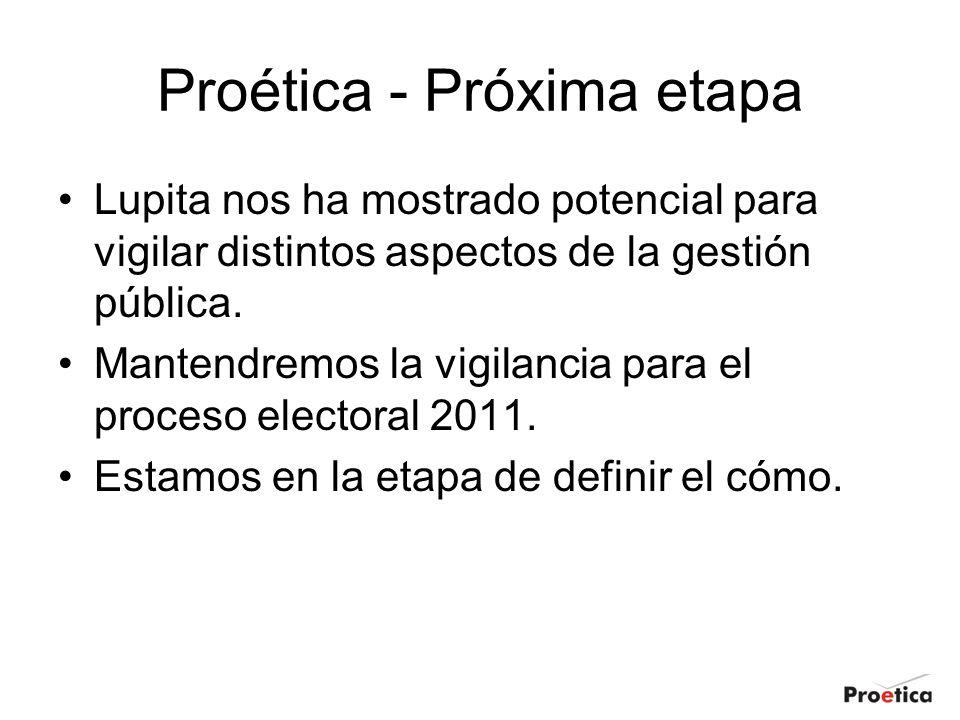 Proética - Próxima etapa
