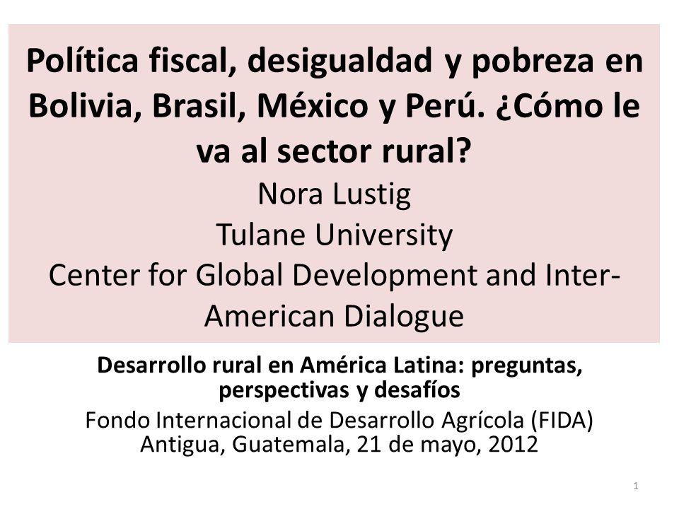 Desarrollo rural en América Latina: preguntas, perspectivas y desafíos