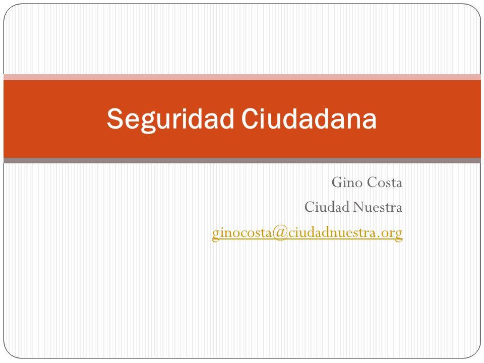 Gino Costa Ciudad Nuestra ginocosta@ciudadnuestra.org