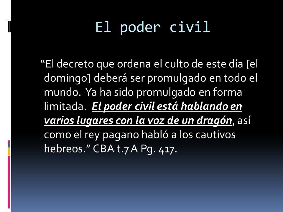 El poder civil