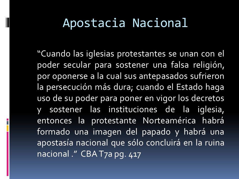 Apostacia Nacional