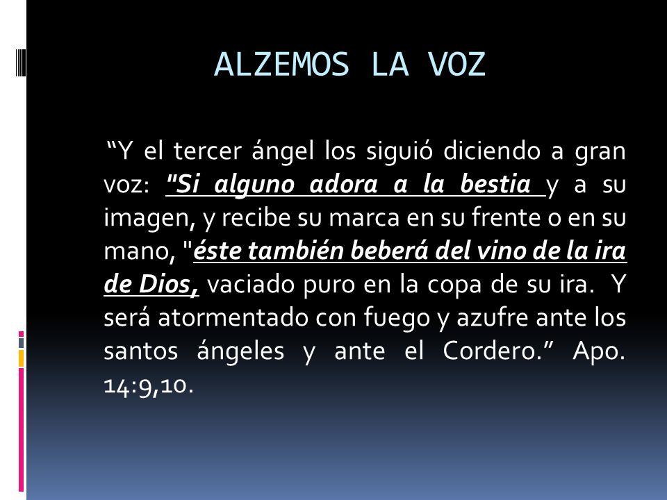 ALZEMOS LA VOZ