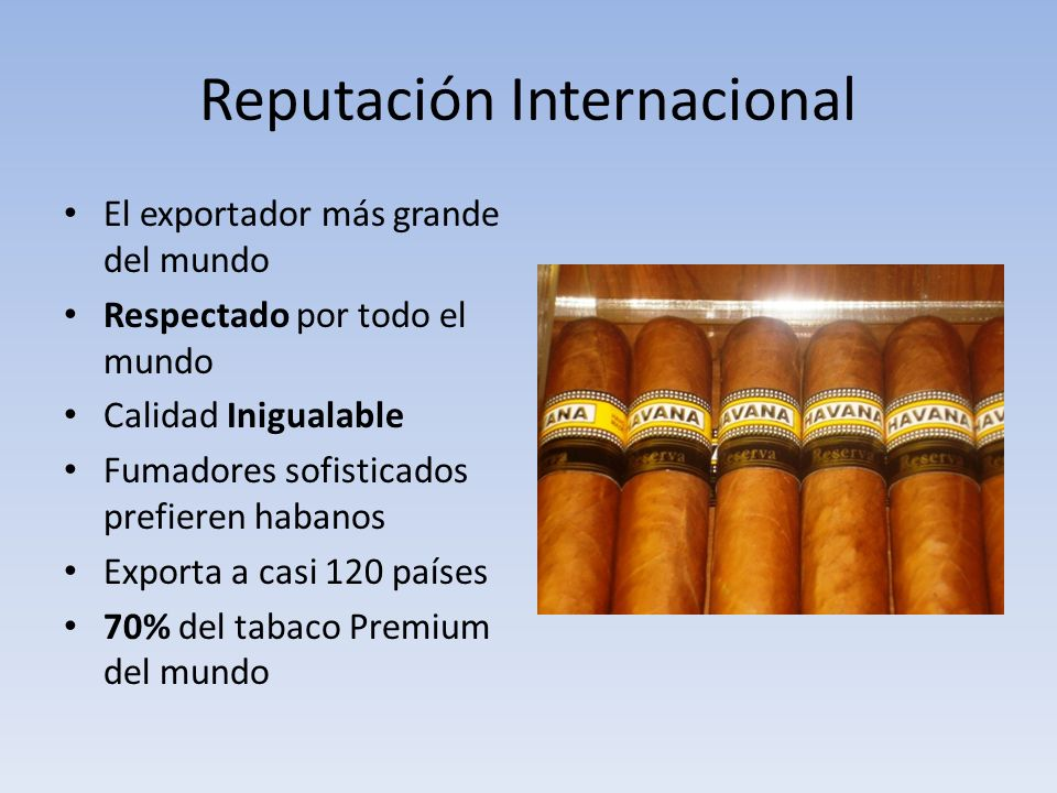 Reputación Internacional