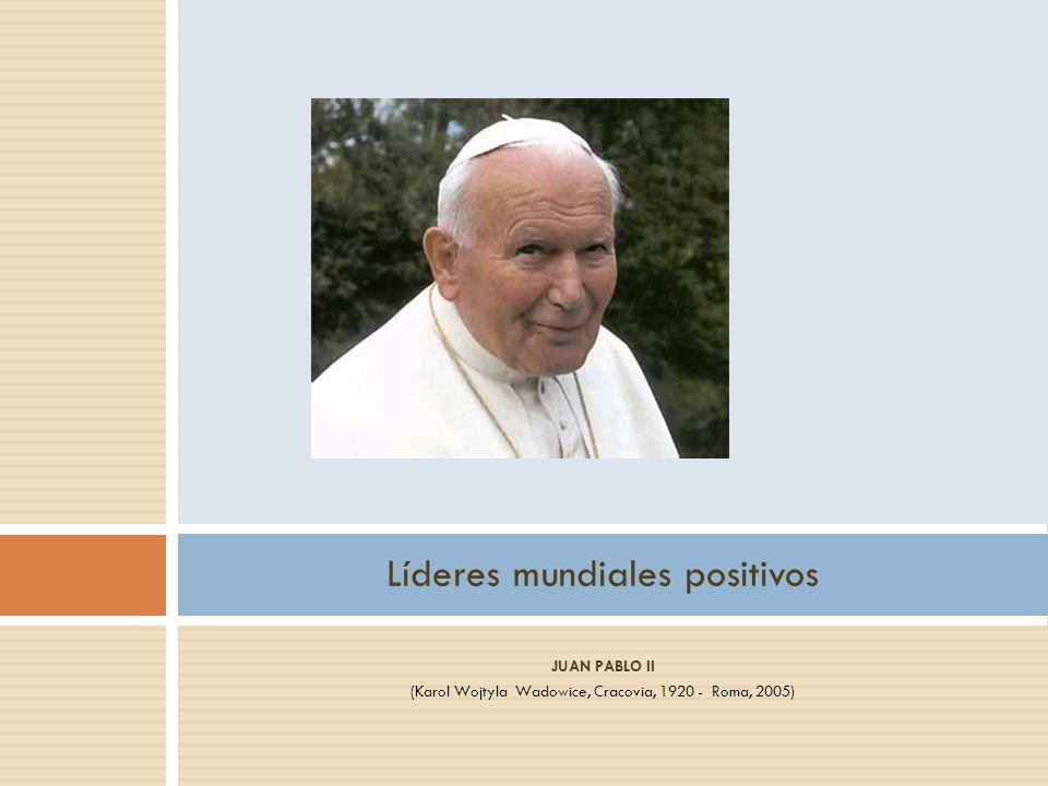Líderes mundiales positivos