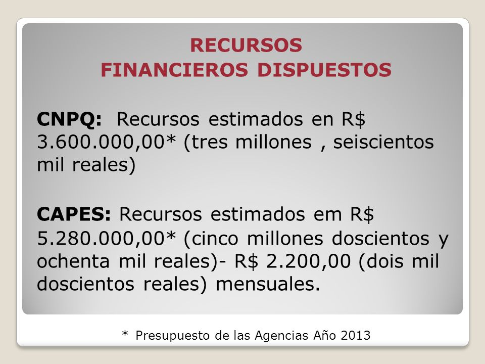 FINANCIEROS DISPUESTOS