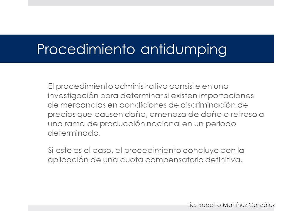Procedimiento antidumping