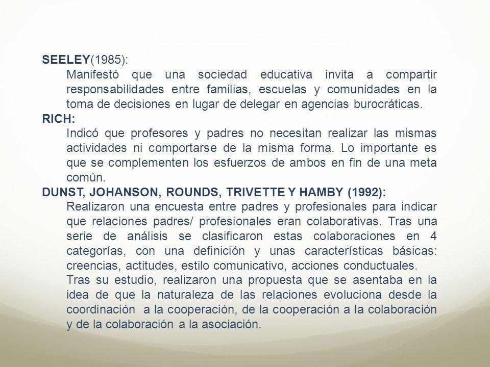SEELEY(1985):