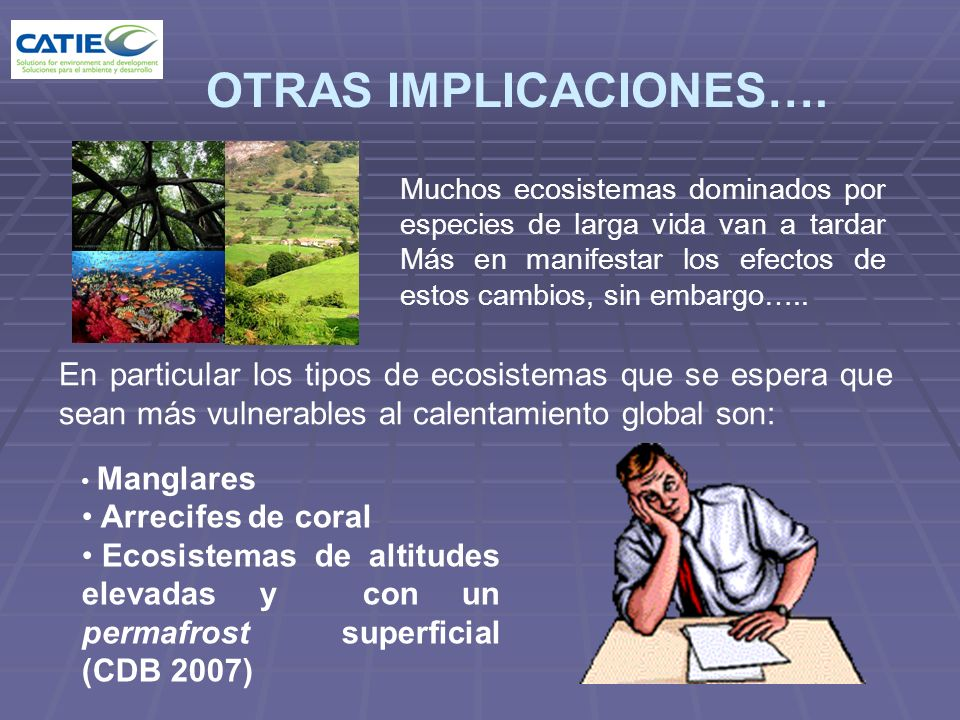OTRAS IMPLICACIONES….