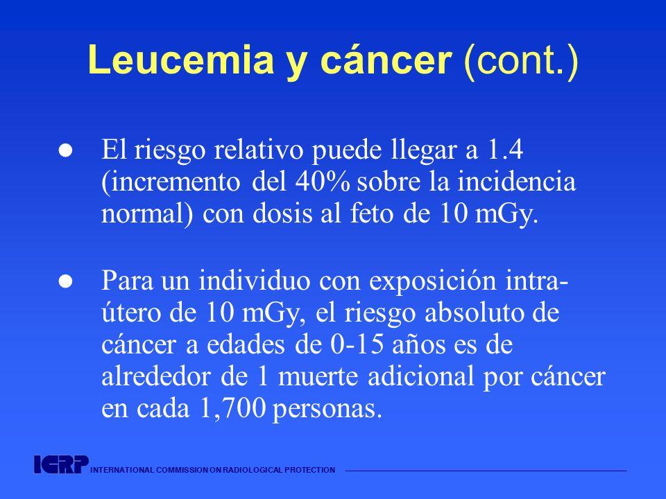 Leucemia y cáncer (cont.)