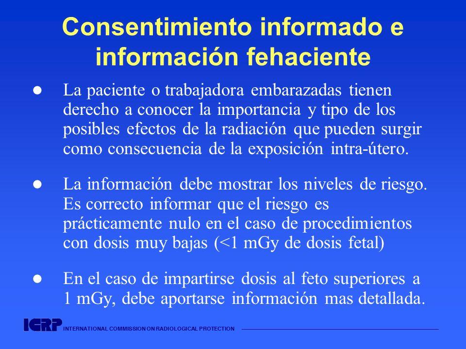 Consentimiento informado e información fehaciente